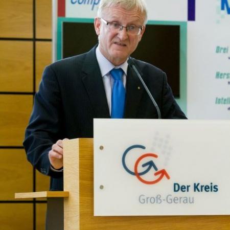 Feierstunde Deutscher Mittelstandspreises 2014 an CompWare Medical im Kreistag Groß-Gerau (28. Mai 2015).