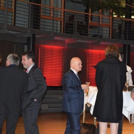 Verleihung des Deutschen Mittelstandspreises 2014 an CompWare Medical. Feierstunde im Allianz-Forum, Berlin.