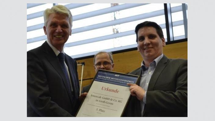 Feierstunde der MIT Groß-Gerau (Hessen) anläßlich der Verleihung des Deutschen Mittelstandspreises